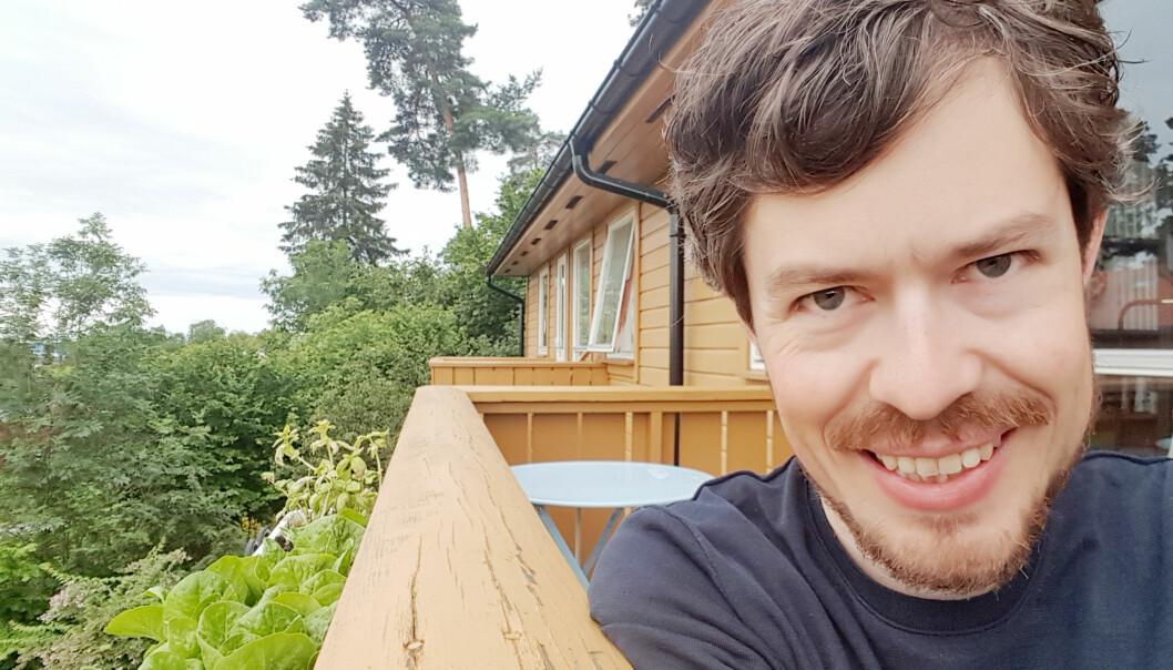 — Av ting som gir mest glede kommer å gå ute i naturen veldig høyt opp, seier Borgar Aamaas, som til dagleg jobber på CICERO Senter for klimaforskning.