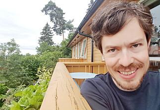 Klimaforsker Borgar Aamaas: Først skal han lese bøker på balkongen — så skal han bli far