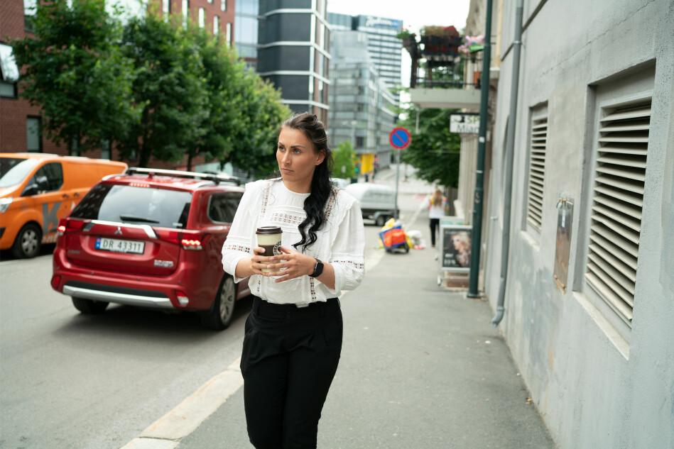 Hun er Norges mektigste student. Marte Øien sier studentøkonomien ligger høyt på lista over ting hun vil ta tak i. Foto: Ketil Blom Haugstulen