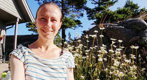 Stipendiat Elin Monstad: —Ikkje inntrykk av å vere blant blyge folk