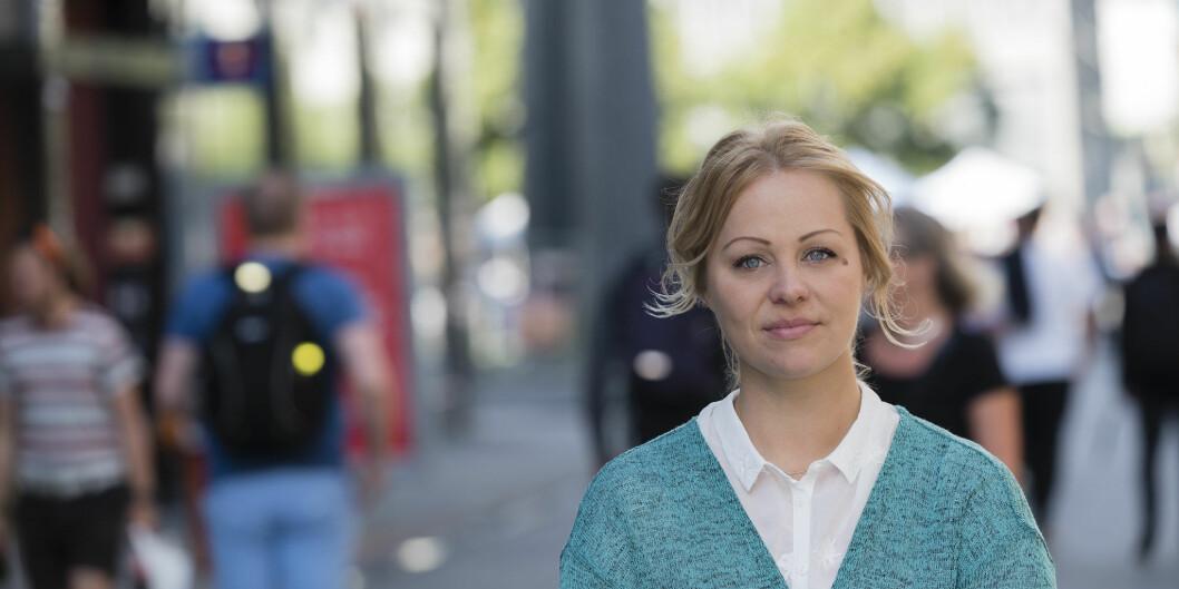 Eivor Evenrud er førstekandidat for Rødt Oslo i 2019. Rødt Oslo søkte om pengestøtte fra NTL OsloMet i forbindelse med valget og fikk innvilget slik støtte. <br>Foto: Christopher Neumann Ruud / Rødt