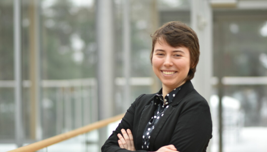Datastudenten: Ana Flavia Vital (22). Foto: Privat