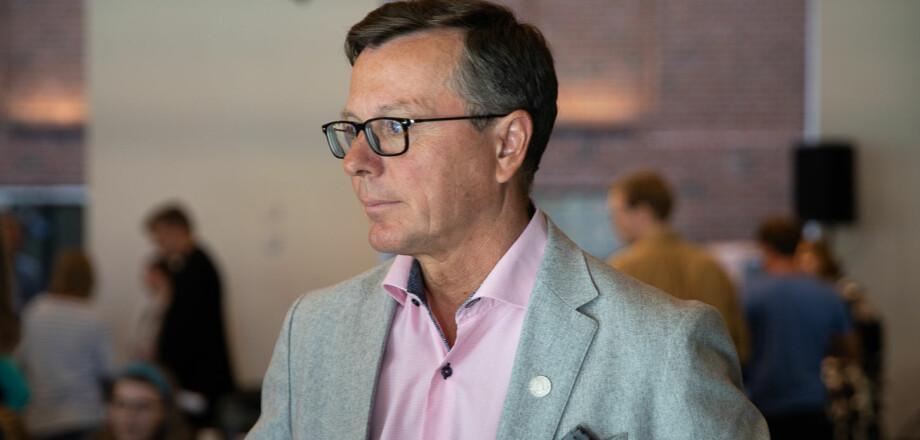 Rektor på Universitetet i Bergen, Dag Rune Olsen. Foto: Mina Ræge