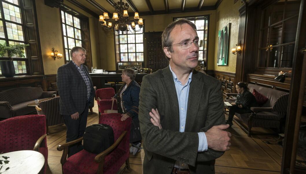 Johann Roppen er rektor og styreleder ved Høgskulen i Volda. Foto: Tor Farstad