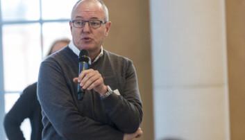 NTNU-rektor Gunnar Bovim meiner campus-prosjektet må koma i gang snarast. Foto: Tor Farstad
