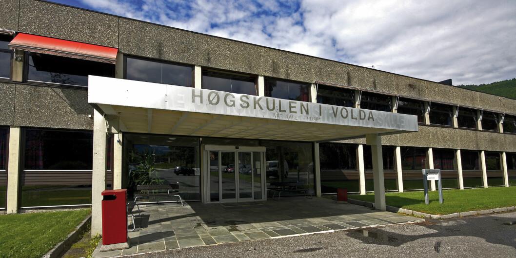 Medieutdanninga ved Høgskulen i Volda held til i Ivar Aasen-bygget. Foto: HVO
