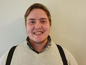 Leder for Norges Kristelige studentfobund, Alex Ramstad Døsvik. Foto: Forbundet