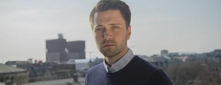 Bjørn-Kristian Svendsrud, formann, Fremskrittspartiets Ungdom (FpU). Foto: FpU