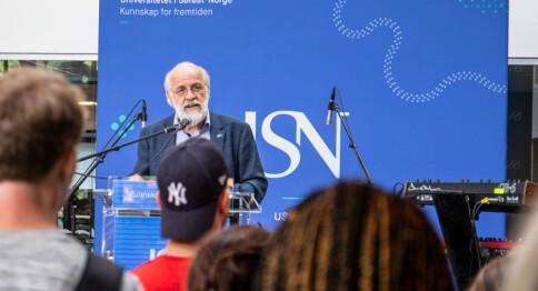 Aasen, USN: Høgare utdanning er viktigare enn nokosinne