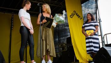 Finalistene årets student på OsloMet