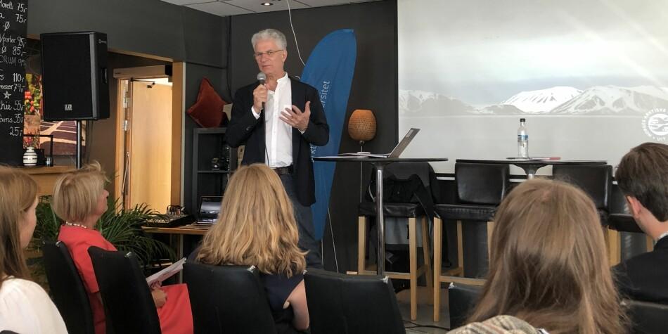 Andrea Tilche er seniorrådgiver og professor II ved UiT og NTNU. Han er initativtaker til klimaoppropet. Foto: Marit Hansen/UiT