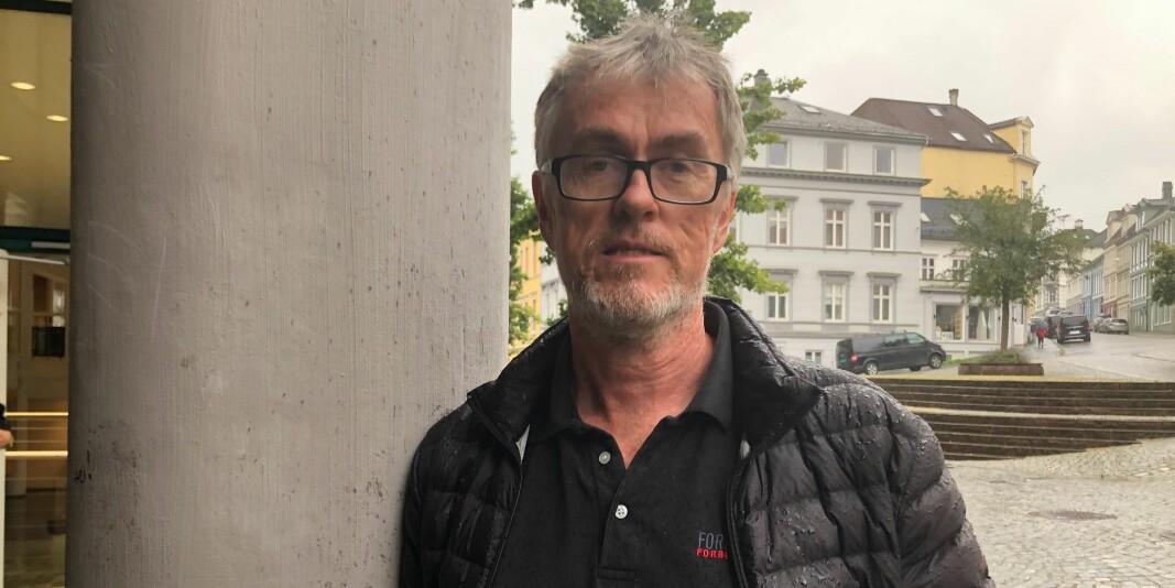 Fagforeningsleder Steinar Vagstad mener rektor Dag Rune Olsen må beklage i oppsigelsessaken ved UiB.