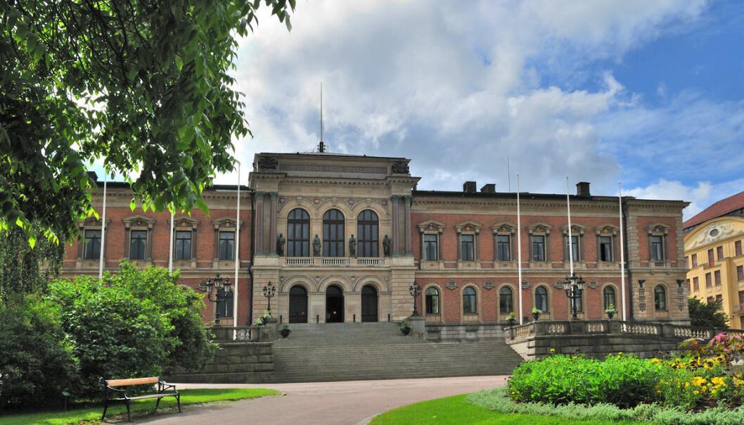 — Vi har definitivt varslet om flere studentfuskesaker enn vi pleier å gjøre under denne delen av vårsemesteret, sier studieleder ved Nordens eldste universitet i Uppsala..