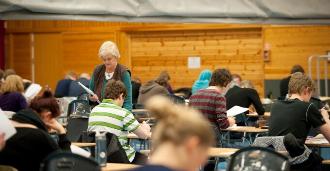 Mange melder om stor vekst i antall saker med eksamensfusk