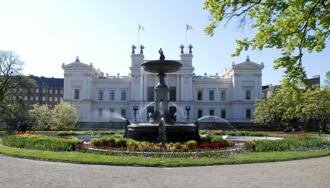 Lunds Universitet er blant universitetene som har sett en økning i antallet internasjonale studenter.