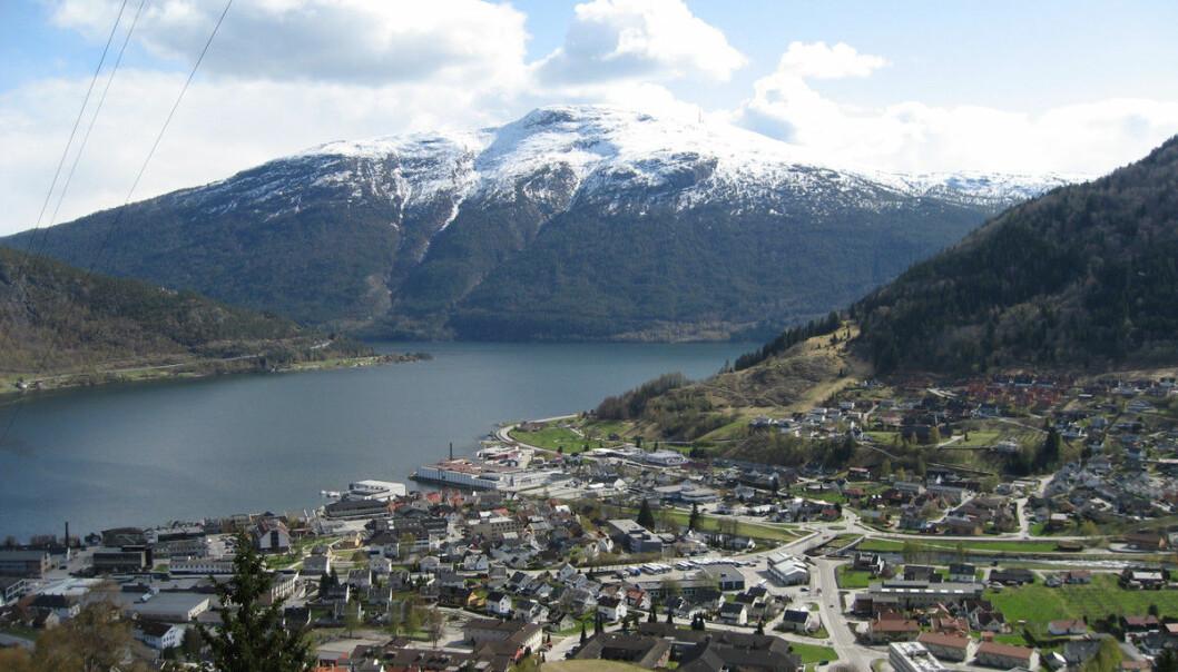 Sogndal. Foto: Wikimedia/Jarle Nystuen