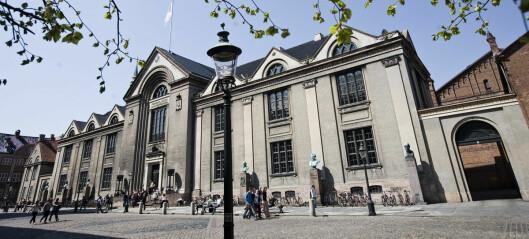 Nest høyeste studieopptak i Danmark noensinne