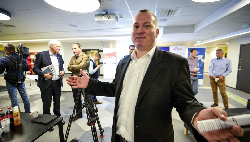 Anders Haugland, direktør i Vestlandets innovasjonsselskap (VIS). Foto: Tor Farstad