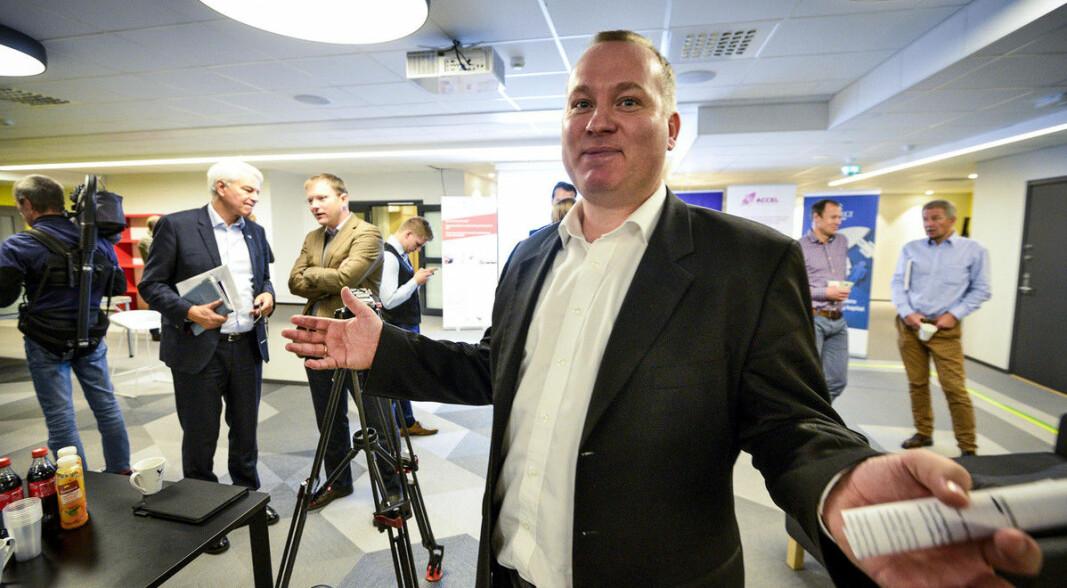 Anders Haugland, direktør i VIS, har ikke lenger styrets tillit