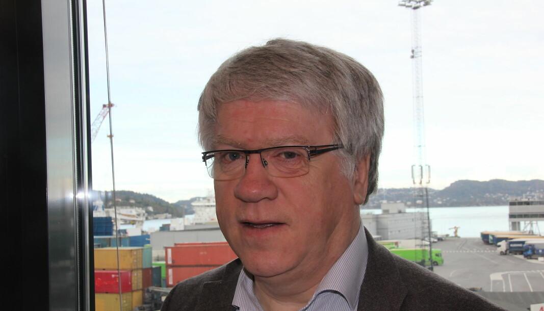 Jussprofessor Ernst Nordtveit er styremedlem i Forskerforbundet ved Universitetet i Bergen. Han sier at meningene var delte i styret om Forskerforbundet burde gå ut med en støtteerklæring til en av rektorkandidatene.