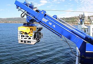 Krangler om bruk av undervannsfarkost