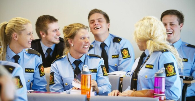 Kraftig korona-misnøye blant politistudentene