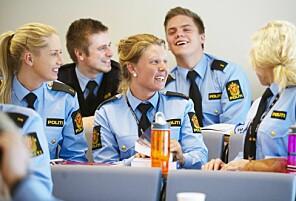 Politistudenter er landets mest fornøyde. Foto: Bjørn Erik Rygg Lunde, Politihøgskolen Foto: KetilBlom