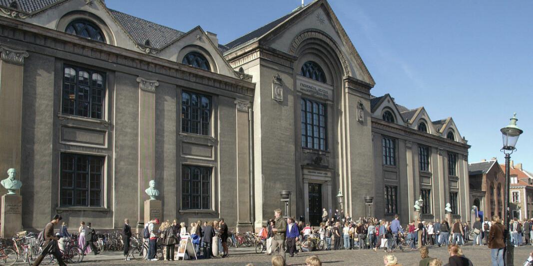 Københanvs Universitet tilbyr gratis psykologhjelp for ansatte.