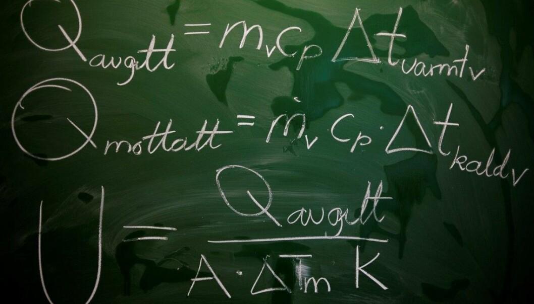 2019 er det andre året kor fleire universitet har krav om R2-fordjupning i matematikk for å komme inn på ei rekke realfagsprogram. Det har ført til færre søkarar på ein del studium. Foto: HiOA