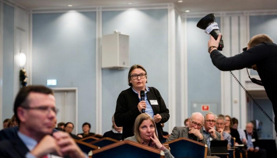 Påtroppende dekan ved Det juridiske fakultet ved Universitetet i Oslo, Ragnhild Hennum (bildet) og to andre jussdekaner fortsetter debatten om Forskningsrådet og juridisk forskning i dette innlegget. Foto: Skjalg Bøhmer Vold