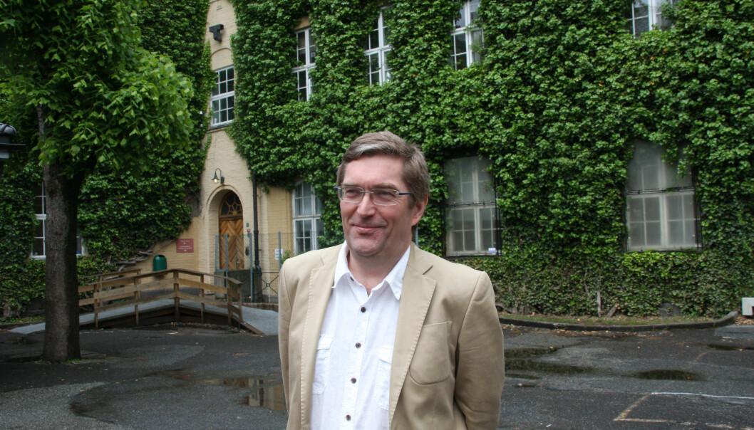 Med unntak av to år har Frode Thorsen hatt leiaransvar ved Griegakademiet sidan 1999. Lokalisering av utdanninga har vore ei pågåande sak alle desse åra, men framleis held musikkstudentane til i den gamle sentrumsskulen i Bergen.