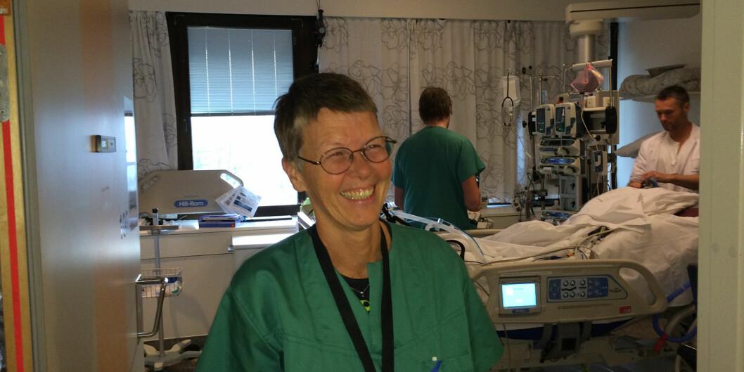 Professor Anne Berit Guttormsen, her fotografert ved en tidligere anledning.