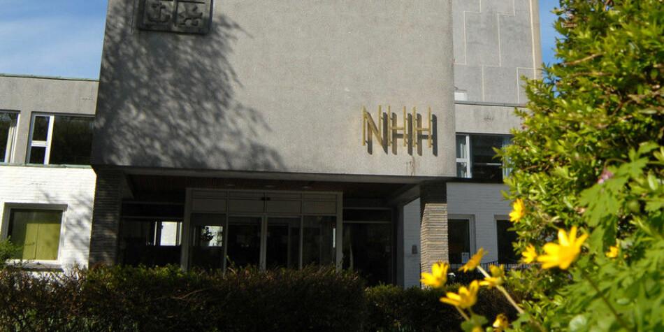 Institutt for Strategi og ledelse ved NHH beklaget onsdag den uheldige hendelsen. Kommentarene skal ha kommet fra en ekstern sensor. Arkivfoto: Hallvard Lyssand