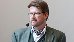 I dialog med Politidirektoratet: Jørn Øyrehagen Sunde. Foto: Johanne Roti Dahl