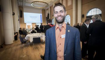 Christian Jørgensen meiner han sjølv er forskar - og udugeleg som leiar.