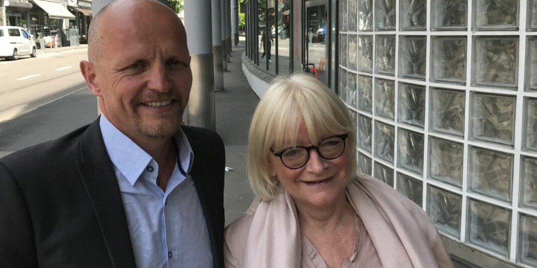 Gunnar Yttri har søkt stillinga som rektor for Høgskulen på Vestlandet. Her saman med sitjande rektor Berit Rokne, som har varsla at ho ikkje tek ein periode til.