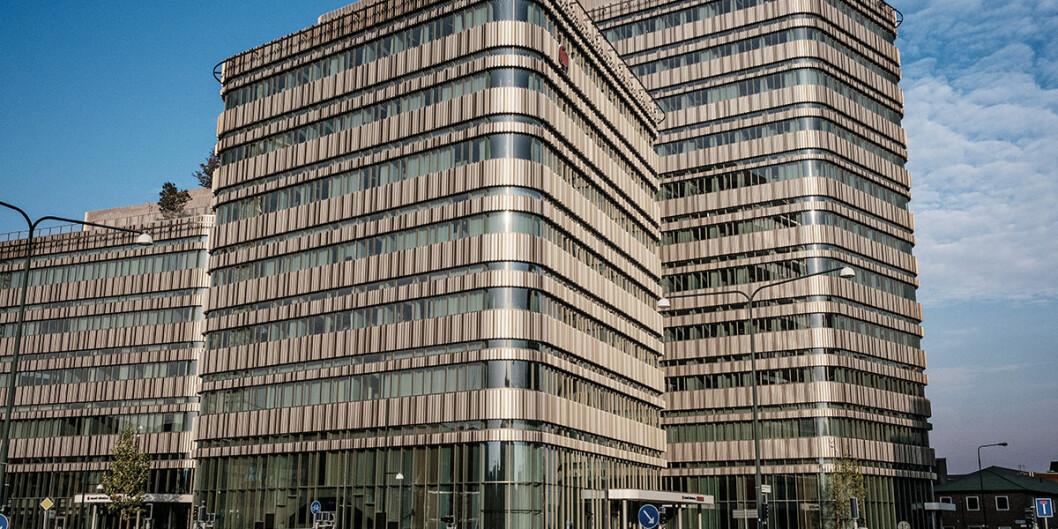 "Bygget Niagara er tegnet av arkitektene Lundgaard <span class=""amp"">&amp;</span> Tranberg. Bygget huser fakultetene Teknik och samhälle og Kultur och samhälle, og kostet 750 millioner svenske kroner. Foto: Högskolen i Malmö"