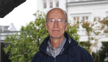 Gjert Kristoffersen er professor emeritus i nordisk språkvitskap. Foto: Hilde Kristin Strand