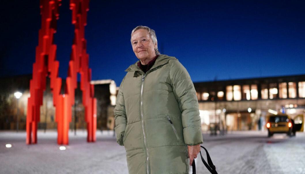 Rektor Kathrine Skretting ved Høgskolen i Innlandet samlar i dag styret sitt til møte. Foto: Ketil Blom Haugstulen, Khrono