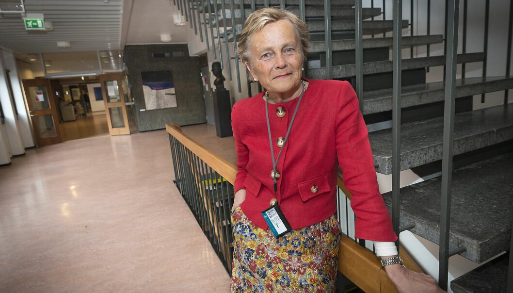 Franskprofessor Kjersti Fløttum ved Universitetet i Bergen er leder av fakultetsstyret ved Det humanistiske fakultet ved NTNU. Hun er fornøyd med å ha ansatt en velkvalifisert instituttleder på Institutt for filosofi og religionsvitenskap.