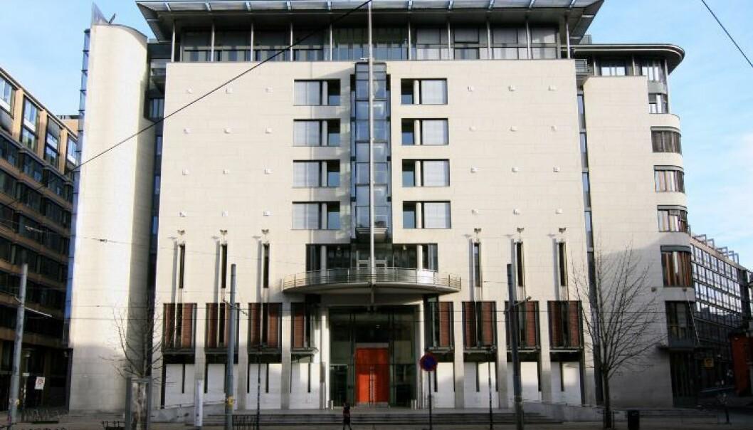 Oslo tingrett har frikjent Universitetet i Oslo.