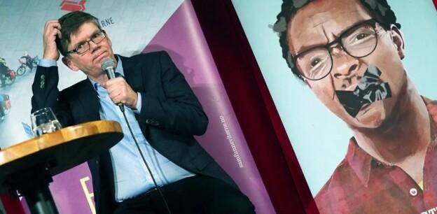 UiO-rektor Svein Stølen vil ikkje vere naiv. — Prestisje betyr noko. Men vi vil aldri i verda gjere strategiske val basert på rangeringar, seier han. Foto: Ola Sæther, Uniforum