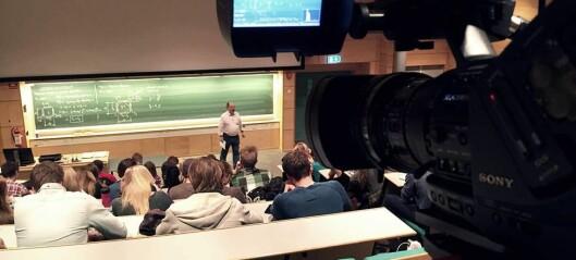 Svenske akademikere kritiske til opptak av forelesninger