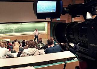 Er opptak av forelesninger moderne undervisning?