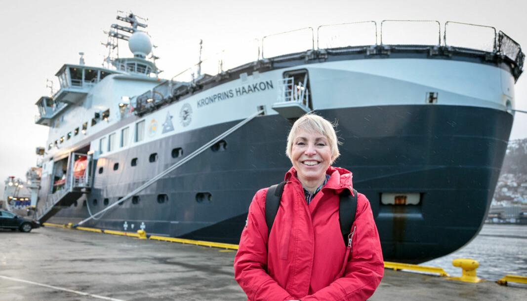Havforskningsdirektør Sissel Rogne kan bli utfordret når jobben hennes nå lyses ut etter snart seks års åremål. — Jeg er motivert for seks år til. Det har vært fantastisk å lede Havforskningsinstituttet, sier Rogne.