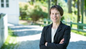 """Prorektor for utdanning ved <span class=""""caps"""">NHH</span>, Linda Nøstbakken. Foto: EivindSenneset"""