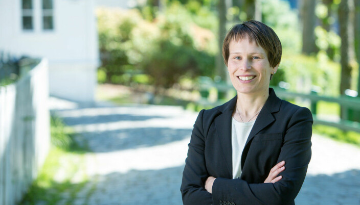 """Prorektor for utdanning ved <span class=""""caps"""">NHH</span>, Linda Nøstbakken."""