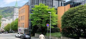 Universitetet i Bergen har stoppet byggearbeid etter asbestmistanke