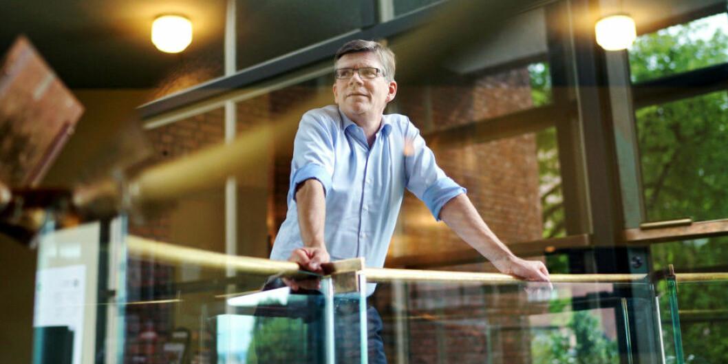 Svein Stølen er rektor på Universitetet i Oslo (UiO), som har fire samfunnsvitenskapelige fagmiljøer som presterer i verdensklasse, ifølge Forskningsrådets evaluering. Foto: Ketil Blom Haugstulen