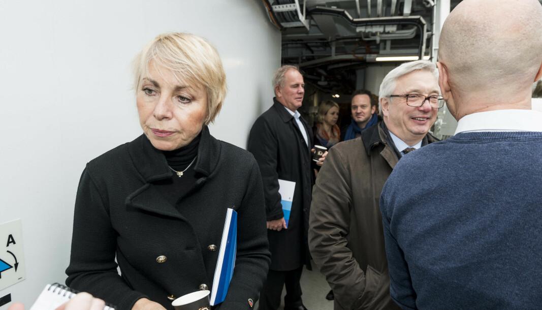 Direktør Sissel Rogne har tidligere varslet at hun søker seks nye år som toppsjef for Havforskningsinstituttet.Nå får 64-åringen konkurranse fra åtte andre søkere, men det er få blant disse som har tung forsknings-eller marin erfaring. Bortsett fra Ingvild Eide Graff, tidligere forskningsdirektør ved NIFES: